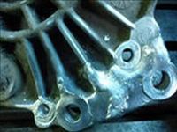 Сварка трещины в радиаторе