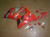 Реставрация пластика мотоцикла