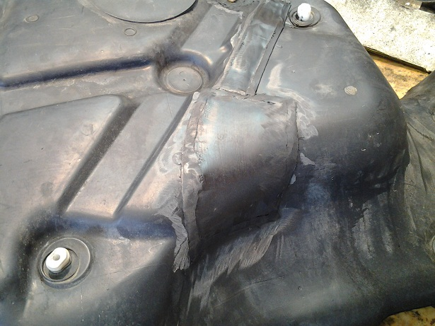 бензобак после ремонта